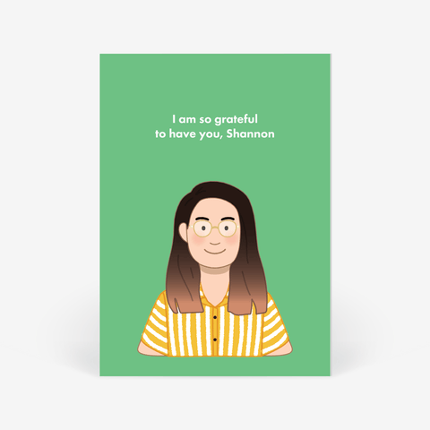 Care Card: Personalised Portrait Commission