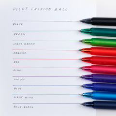 Pilot FriXion Ball Pen - 0.5 mm - Orange