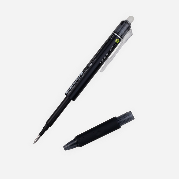 Pilot FriXion Ball Refill - 0.5 mm - Black