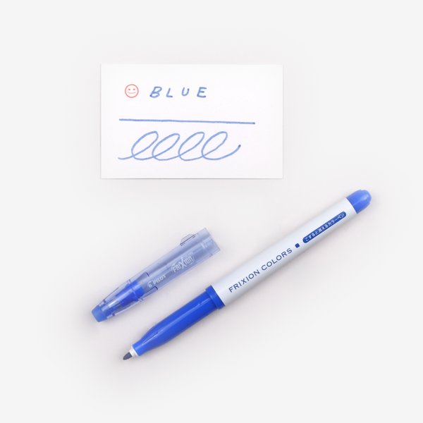 Pilot FriXion Colours Erasable Marker - Blue