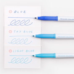 Pilot FriXion Colours Erasable Marker - Light Blue