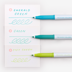 Pilot FriXion Colours Erasable Marker - Soft Green