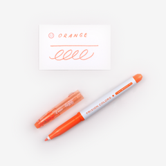 Pilot FriXion Colours Erasable Marker - Orange