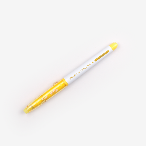 Pilot FriXion Colours Erasable Marker - Yellow