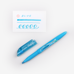 Pilot FriXion Light Erasable Highlighter - Blue