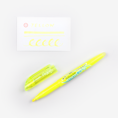 Pilot FriXion Light Erasable Highlighter - Yellow