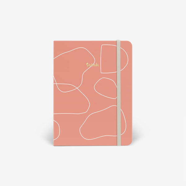 Pink Clay Threadbound Notebook