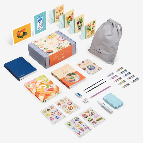 Plate to Paper Watercolour Art Kit