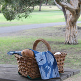 Gumnut Tea Towel - Navy