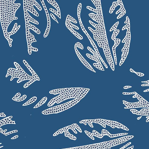 Reef Tea Towel - Navy