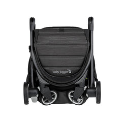 Baby Jogger City Tour 2 (Pitch Black) - front view, shown folded