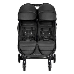 Baby Jogger City Tour 2 - Double (Pitch Black) - front view