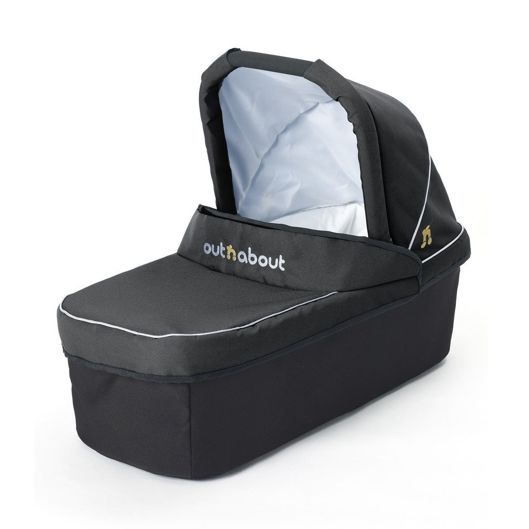 Raven Black Carrycot for Double Nipper by Out n About