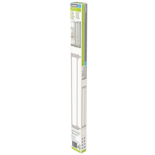 Lindam Sure Shut Extension for Safety Gates (28cm White)