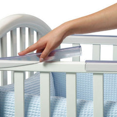 "Prince Lionheart Cot / Crib Rail Teether Protector (4 x 12"" Lengths)"