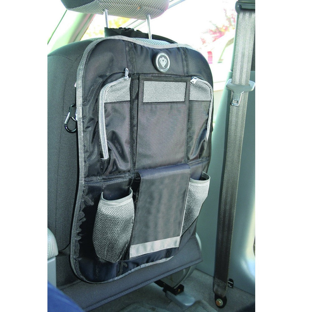 Prince Lionheart Backseat Organiser (Black/Grey)