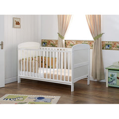 Obaby Grace Cot Bed (White) Lifestyle