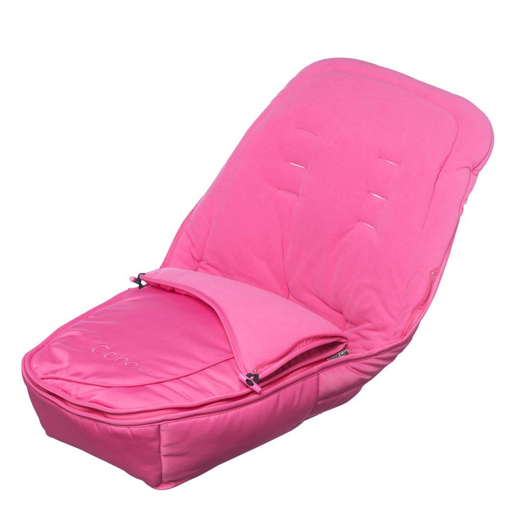 iCandy Apple 2 Pear Footmuff (Lipstick Pink)