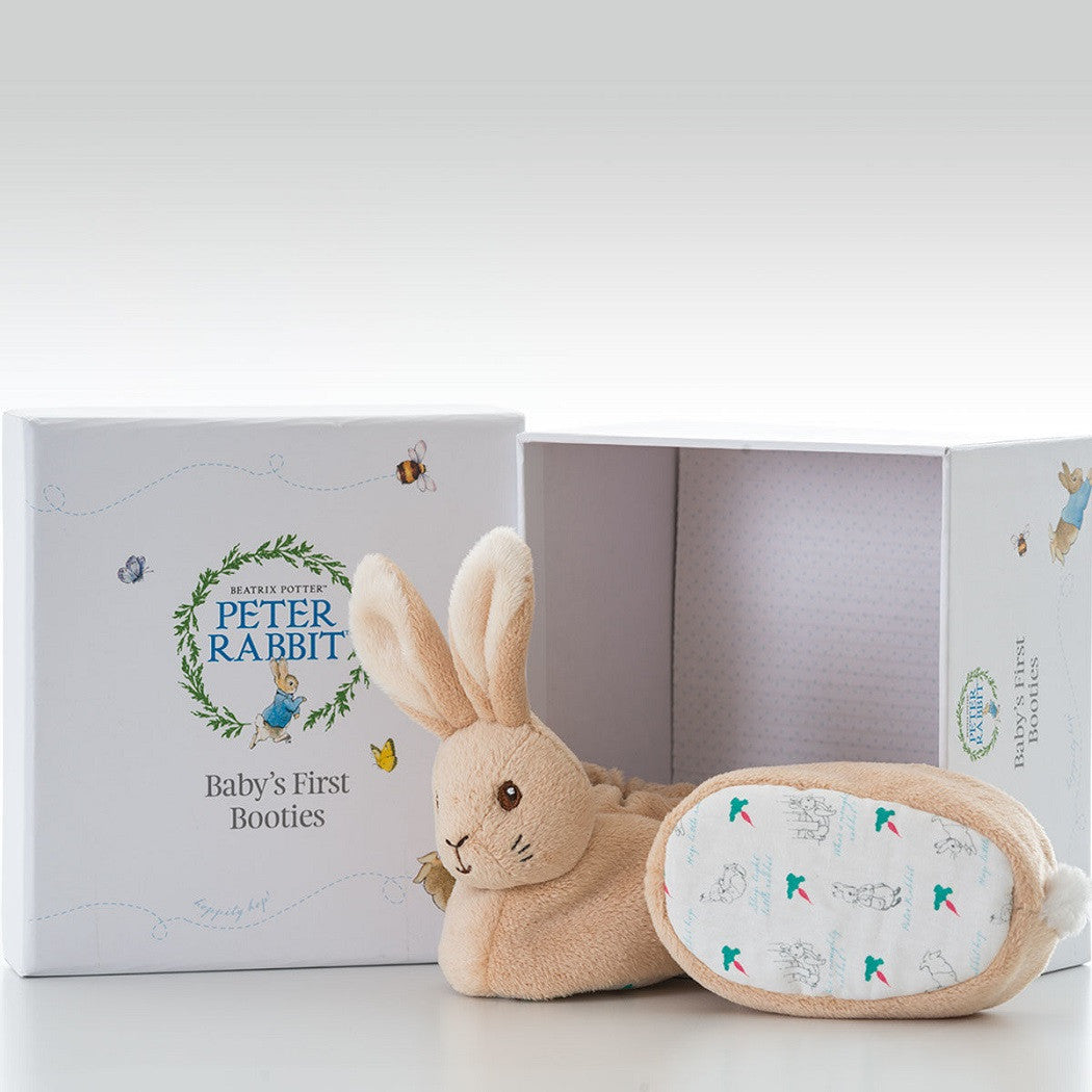 Beatrix Potter Peter Rabbit Booties Gift Set