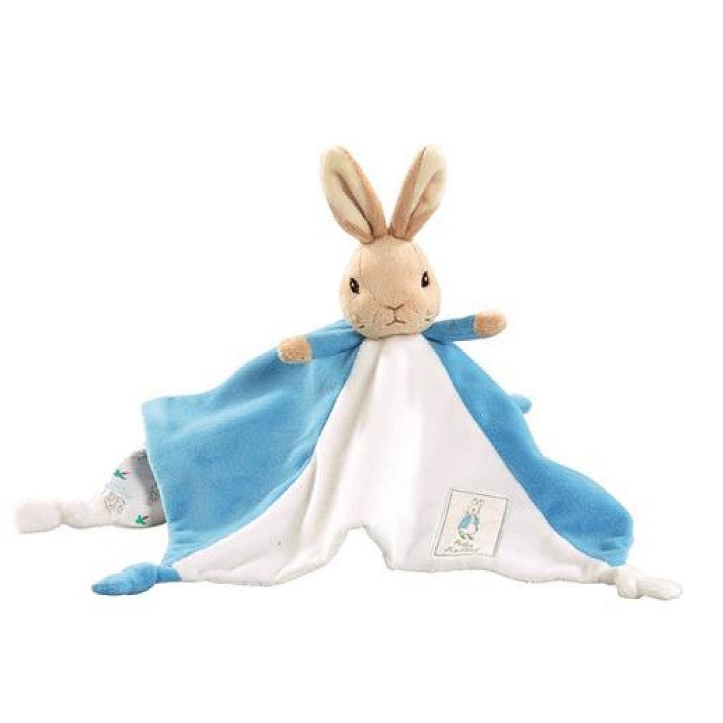 Peter Rabbit Babys First Comfort Blanket by Rainbow Designs