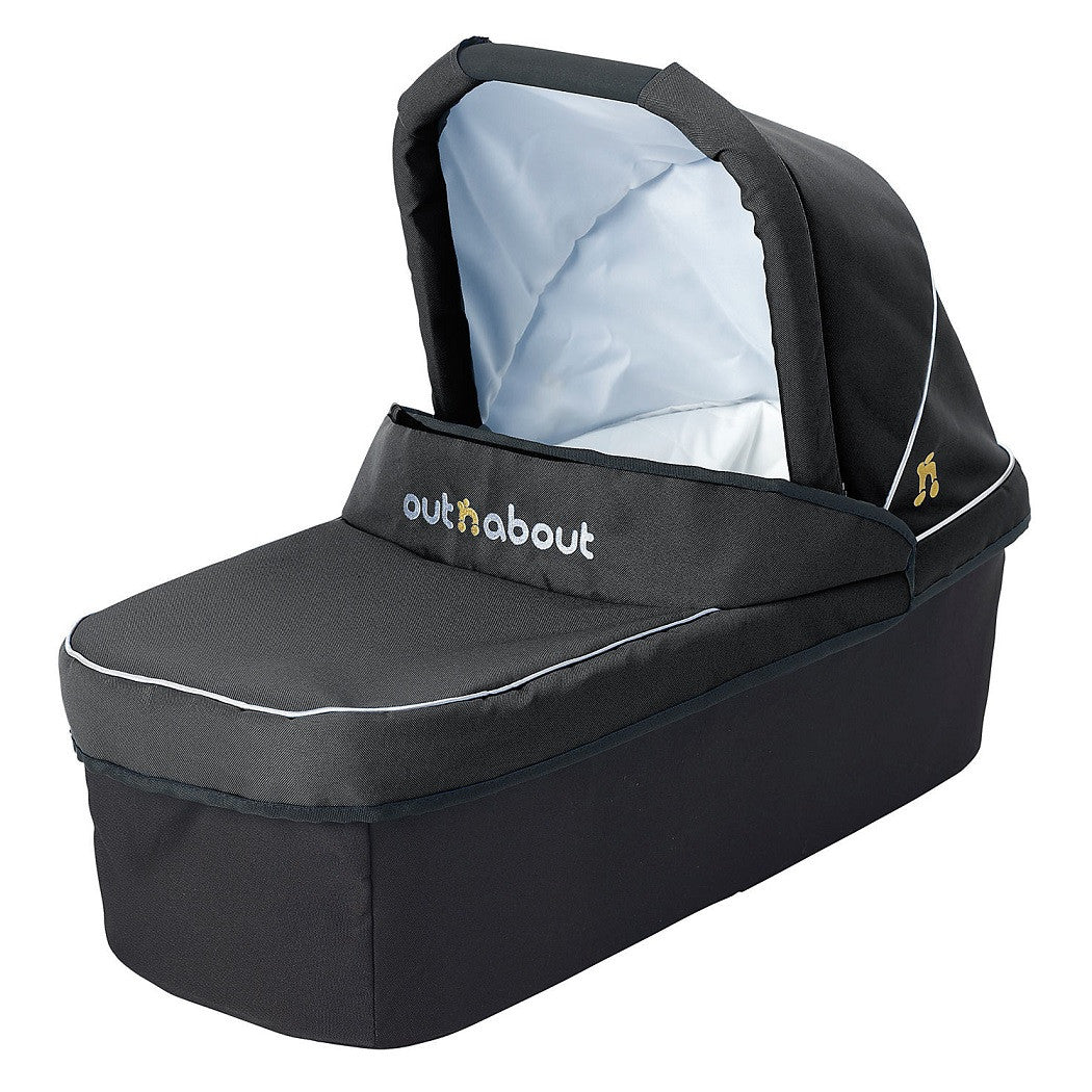 Raven Black Single Carrycot for Nipper by Out n About