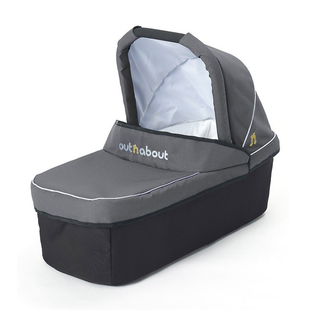 Steel Grey Single Carrycot for Nipper by Out n About