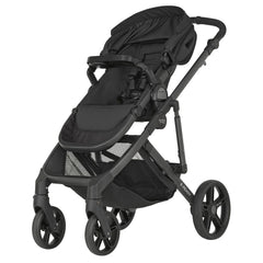 B-Ready Pushchair (Cosmos Black) hood folded