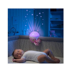 Next 2 Stars Night Light Projector Pink lifestyle image