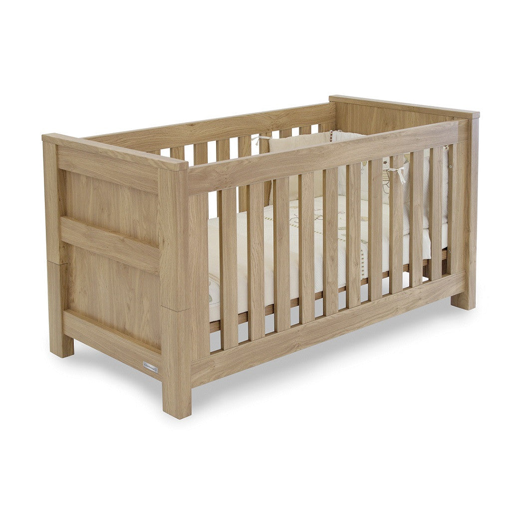 BabyStyle Bordeaux Cot Bed - quarter view