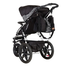 Mountain Buggy Terrain Pushchair (Graphite) - rear view (changing bag not included)