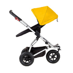Mountain Buggy Swift & MB Mini Carrycot Plus (Gold) - shown as parent facing seat