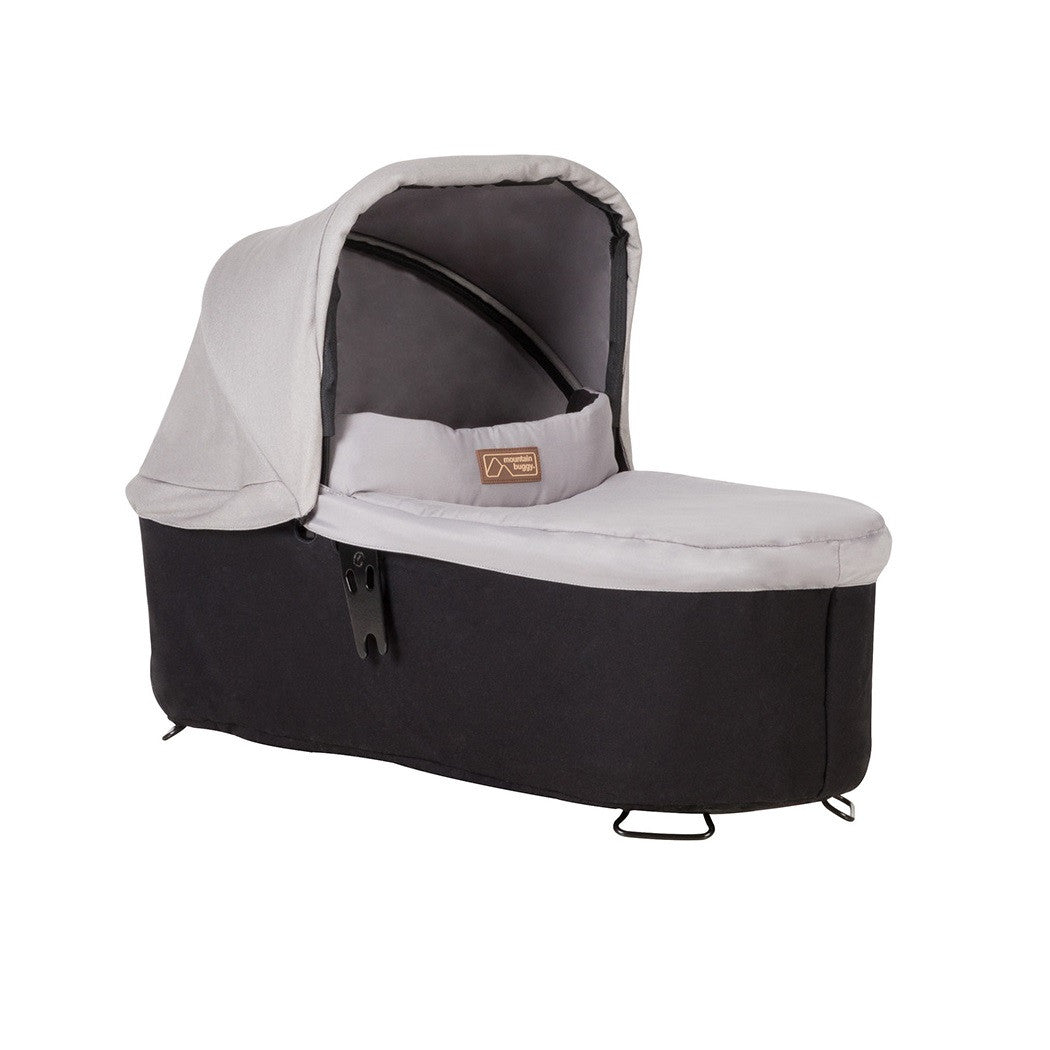 Mountain Buggy Swift & MB Mini Carrycot Plus (Silver)