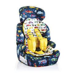 Cosatto Zoomi Group 123 Car Seat (Rev Up) - quarter view