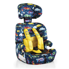 Cosatto Zoomi Group 123 Car Seat (Rev Up) - shown without liner