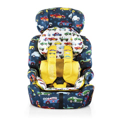 Cosatto Zoomi Group 123 Car Seat (Rev Up) - front view