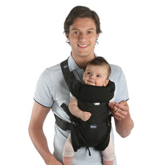 Chicco Easy Fit Carrier ( Black Night) - shown with child, forward facing