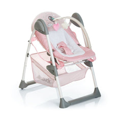 Hauck Sit 'n' Relax Highchair (Birdie) - shown for newborn use