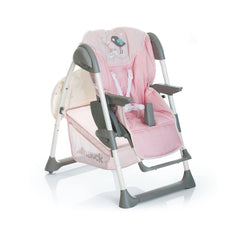 Hauck Sit 'n' Relax Highchair (Birdie) - shown as chair in low position
