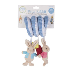 Beatrix Potter 'Peter Rabbit & Flopsy Bunny' Activity Spiral - shown with licensed branding