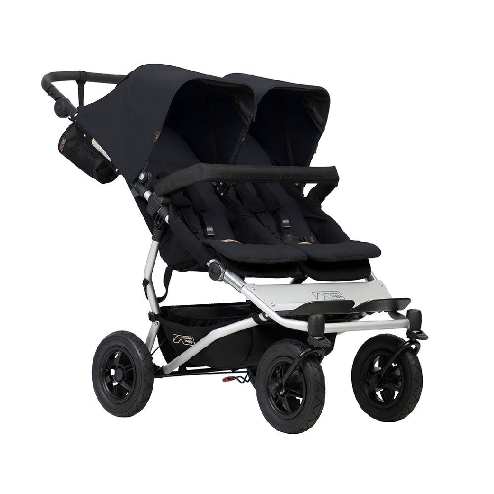Mountain Buggy Duet v3.0 Double Pushchair (Black)