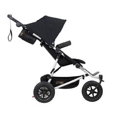 Mountain Buggy Duet v3.0 Double Pushchair (Black) - side view