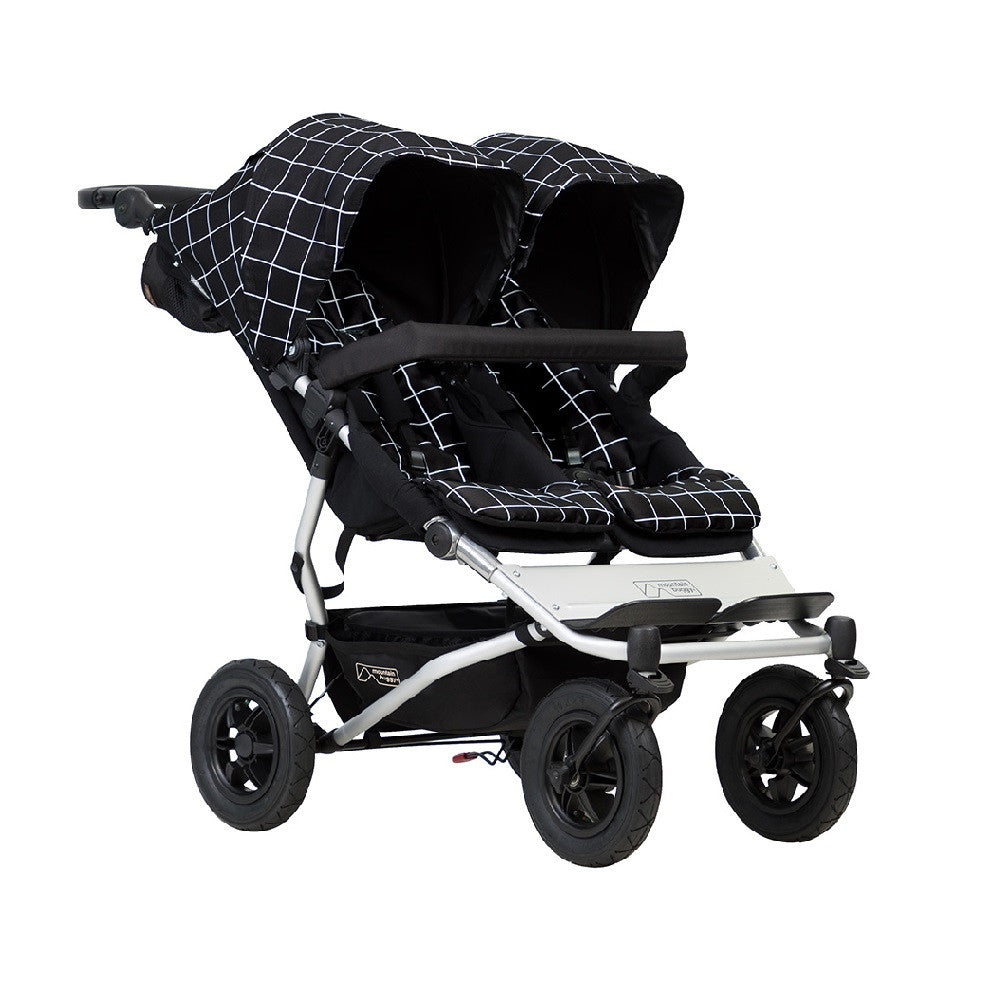 Mountain Buggy Duet v3.0 Double Pushchair (Grid)