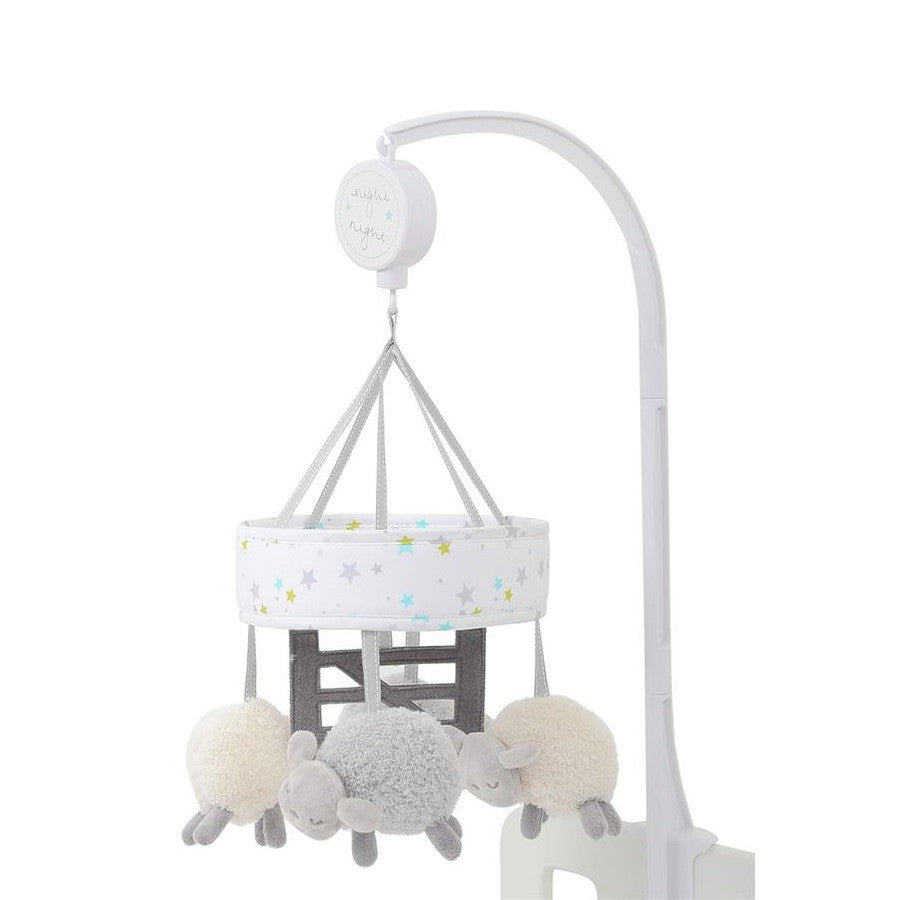 Silvercloud Counting Sheep Cot Mobile (Sheep)