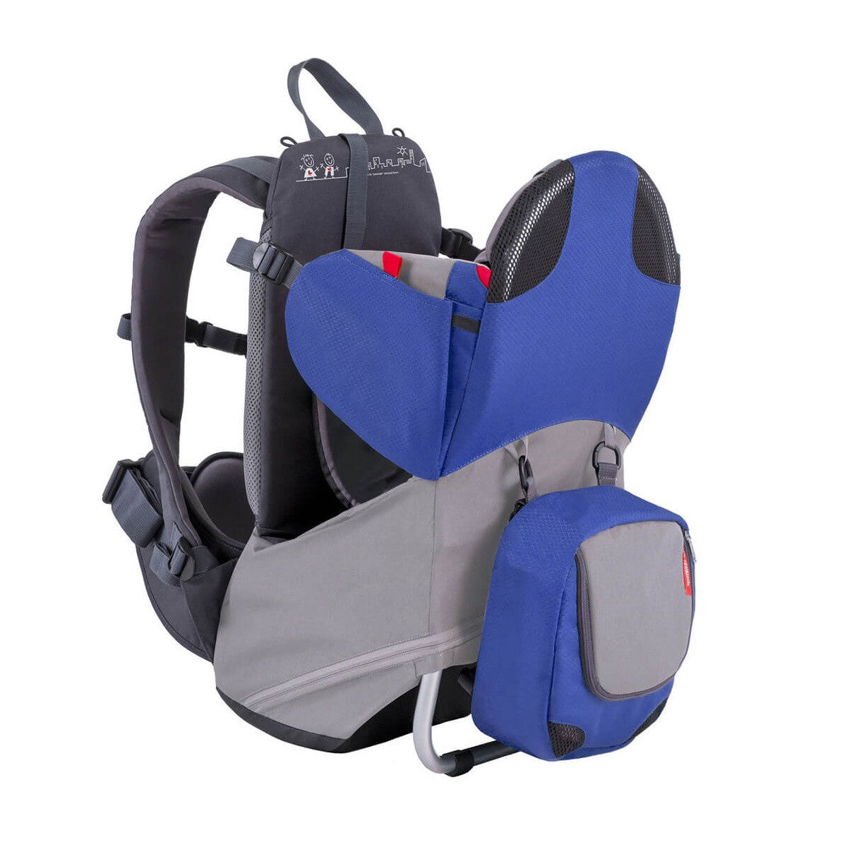 Phil & Teds Parade Baby Carrier (Blue/Grey)