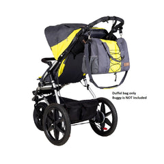 Mountain Buggy Parenting Bag (Solus) - shown clipped onto buggy (buggy is not included)