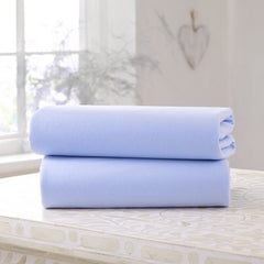 Clair De Lune Fitted Cot Bed Sheets (Blue)