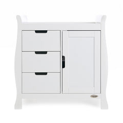 Obaby Stamford Sleigh Changing Unit (White)