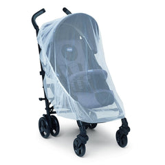 Chicco Stroller Kit - showing the mosquito net fitted to a stroller (stroller NOT included)