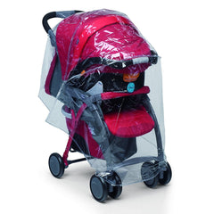 Chicco Stroller Kit - showing the raincover fitted to a stroller (stroller NOT included)