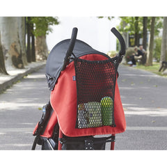 Chicco Stroller Kit - lifestyle image, showing the storage net fitted to a stroller (stroller NOT included)